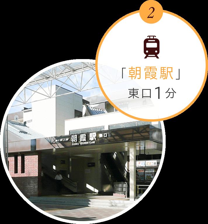 「朝霞駅」徒歩1分